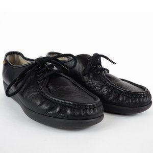 SAS Shoes Siesta Lace Up Loafer Black Women's sz 7